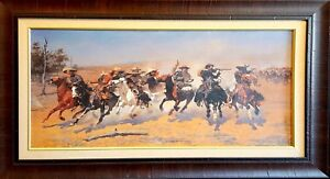 DecorArts A Dash for the Timber Frederic Remington