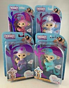 Fingerlings Glitter Monkeys- Choose from Amelia, Kiki & Sugar- All NEW