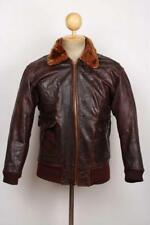 Vintage 50 S ROYAL CANADIAN NAVY G-1 Pilote Vol Horsehide Leather Jacket XS