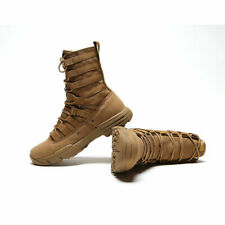 Mens Army Tactical Boot Military SWAT Combat Work Boot Outdoor Climbing Shoes 11