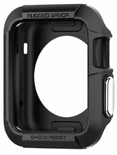 Case Screen Protector For Apple Watch 42mm Rugged Sports iWatch Accessories New