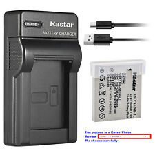 Kastar Battery Slim Charger for Canon NB-4L & Digital IXUS 130 Digital 40 / 50