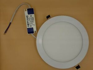 15W ULTRA SLIM LED RECESSED LIGHTING PANEL CEILING DOWN LIGHT ROUND