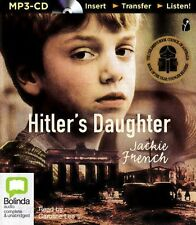 Jackie FRENCH / HITLER'S DAUGHTER    [ Audiobook ]