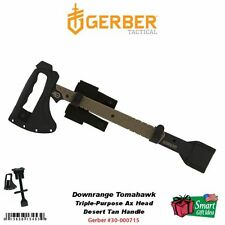Gerber Downrange Tomahawk w/ MOLLE Sheath, Desert Tan Handle #30-000715