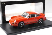 1:18 Autoart Porsche 911 Carrera RS 2.7 naranja/Black New en Premium-modelcars