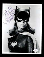 Yvonne Craig PSA DNA Cert Signed 8x10 Batgirl Photo Certified Autograph