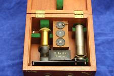 Ernst Leitz Classroom Microscope Antique