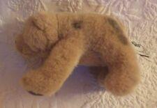 "Russ Berrie Brown Spotted Bear Plush Stuffed Animal 6"" Long"