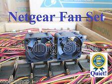 Set of 2x Quiet fans Netgear ReadyNAS 1100 Replacement Parts 405-10001-01 RN11
