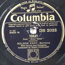 78 tr/min NELSON EDDY Tokay/I 'll vous revoir
