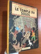 Tintin: Le Temple Du Soleil 1949 1st Belgian Edition EO Herge first Sun Neuf
