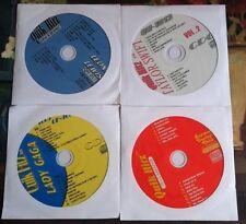 4 CDG DISCS KARAOKE TEEN HITS OF LADY GAGA,SWIFT,BEYONCE,LEWIS MUSIC CD LOT CD+G