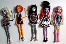 Monster High Lot of 5 Dolls: Meowlody, Purrsephone, Toralei, Viperine, Operetta