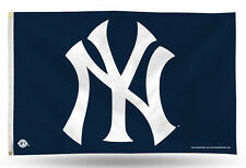 New York Yankees 3X5 Flag With Metal Gromets New & Officially Licensed
