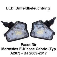 2x LED TOP SMD Umfeldbeleuchtung Weiß Mercedes E-Klasse Cabrio (Typ A207) (7225)