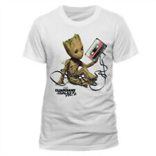 GUARDIANS OF THE GALAXY- GROOT & Tape, T-Shirt, New With Tags, Sizes S, L, XL