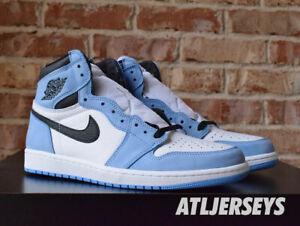 Size 8 Nike Air Jordan 1 Retro High OG UNC University Blue GS Men