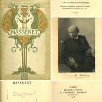 🌓 EO EX. EXCEPTIONNEL SUR JAPON IMPERIAL Louis SCHNEIDER Massenet Conquet 1907