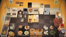 Mega Kitchen Furniture Items Appliances Dishes Utensils Foods +240 Pcs Bundle