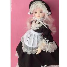 Dollmore 1/4 BJD clothes outfits MSD - Vanessa Dress Set (Black)