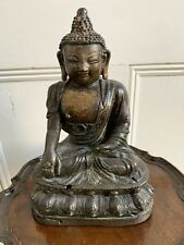 More details for antique bronze bhaisajyaguru buddha, 16th-18th century.