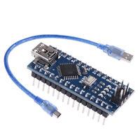 1Pc mini USB Nano V3.0 ATmega328P CH340G micro-controller board with cable_HC