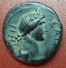 "ROMAN MYSIA PERGAMON SENATE ROMA AUTONOMOUS ""RARE BRONZE  IMPERIAL COIN"" (WC11)"