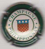 capsule de champagne PHILIPPONNAT, blason, contour vert, n°32
