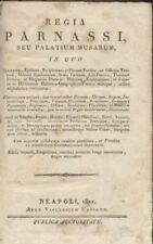 REGIA PARNASSI SEU PALATIUM MUSARUM in quo synonyma ephiteta periphrases 1821