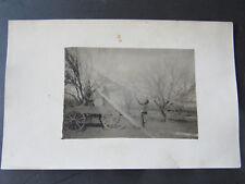 c 1914 RPPC Photo Hillsboro Marion County Kansas Orchard Farm Harvest Wagon
