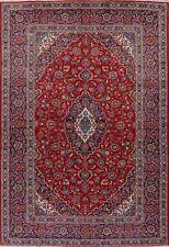 Vintage Medallion Floral Oriental Area Rug Hand-Knotted Dining Room Carpet 8x12