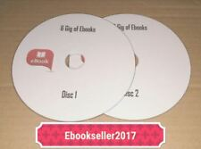 ebooks Over 6 Gig on 2 Discs and resale rights nearly 2000 books Free UK Post