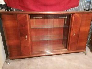 Art Deco Buffet Kommode Sideboard Anrichte Vertiko Schrank Vollholz antik alt