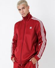 Clothing, Shoes & Accessories Popular Brand Adidas Climalite Mens Burgundy White Gray Mesh Lined Windbreaker Track Jacket L Moderate Cost Activewear