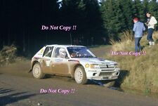 Ari Vatanen Peugeot 205 Turbo 16 Winner RAC Rally 1984 Photograph 4