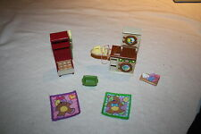 Fisher Price Loving Family Laundry Washer Dryer Mud Room Doll House Furniture