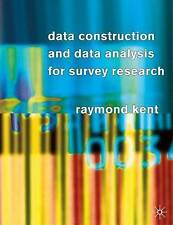 Data Construction and Data Analysis For Survey Research-ExLibrary