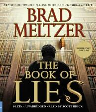 The Book of Lies by Brad Meltzer (2008, CD, Abridged) 6 CDs  Read by Scott Brick