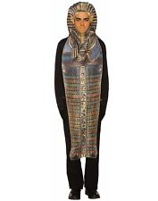 King Tut Mens Adult Mummy Egyptian Halloween Costume Tunic-Std