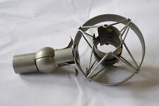 Neumann EA 21 Mikrofonspinne; Elastische Halterung; Shock Mount. Nickel, Vintage