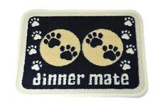 PET Rebellion GATTO Cena mat Mate MINI BLACK CAT Paws Ciotole di alimentazione cibo in ordine