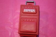 """Doll Rolling Suitcase """"Ferrari"""" Red - For Dolls - GREAT GIFT NEW"""