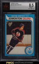 1979 Topps Hockey Wayne Gretzky ROOKIE RC #18 BVG 8.5 NM-MT+