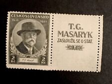 Czech 1935 A56 MNHOG XF Great Margin Stamp A Rare Find Y9/13