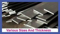 Mild Steel Flat Bar Various Sizes Widths Thickness Lengths Metal upto 100cm Long