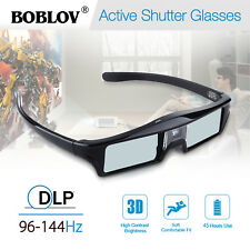 DLP-Link Shutter 3D Glasses Moives Compatible For Optoma/BenQ/Samsung Projector