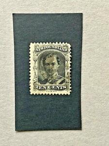 Newfoundland #27 Used     Catalog $60.00
