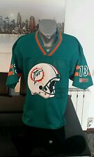 CAMISETA SHIRT VINTAGE NFL RUGBY DOLPHINS DORSAL 13 TALLA M