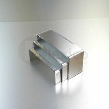 Mirrored Small Nesting Plinths/  Acrylic Riser Counter / Jewellery Display Stand
